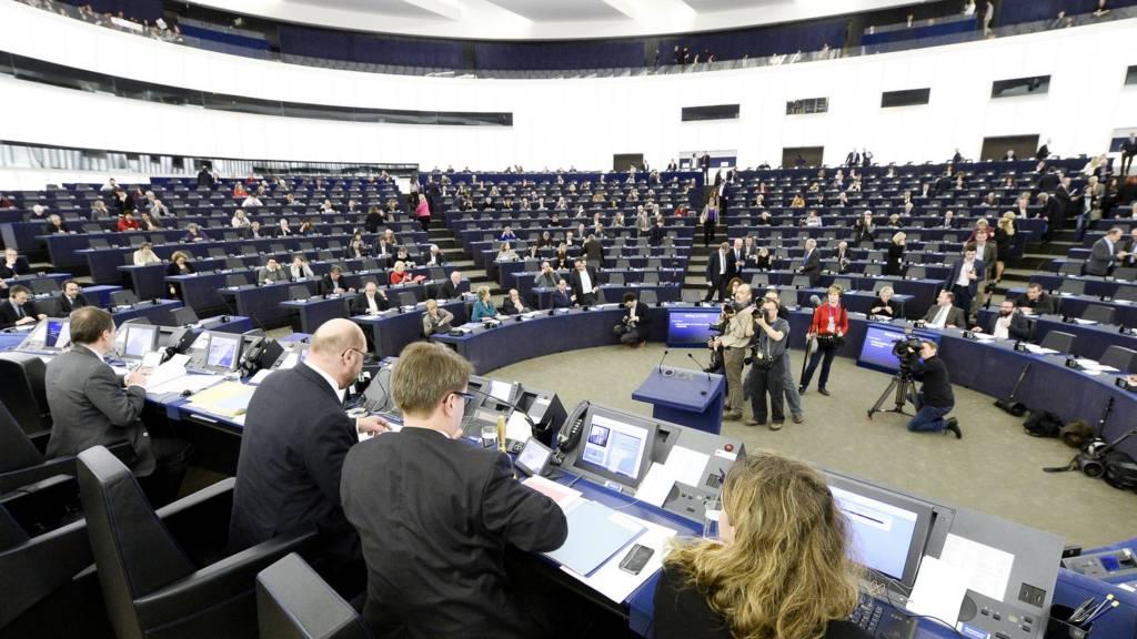 Wideshot of Strasbourg chamber