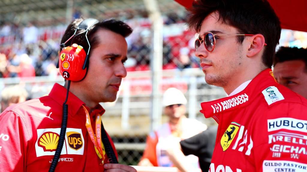 Ferrari's Pierre Gasly
