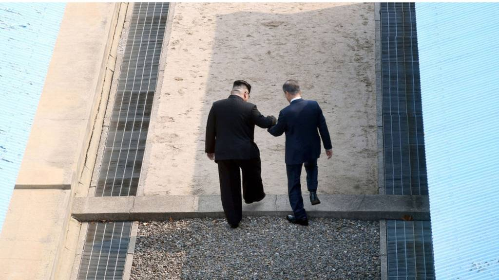 Bắc Hàn, Nam Hàn
