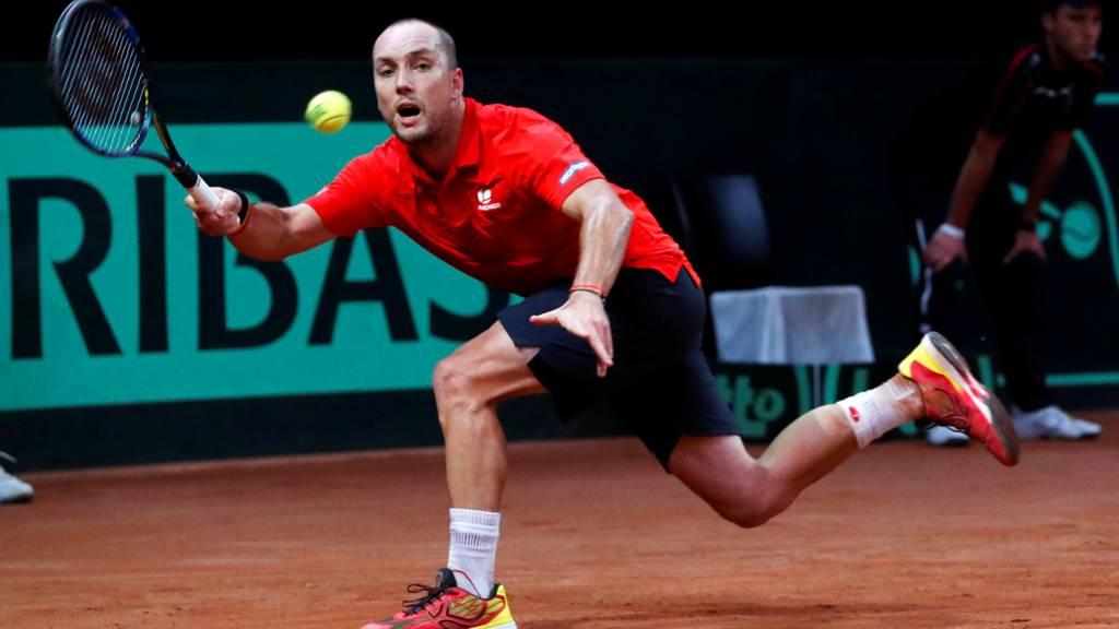 Belgium's Steve Darcis