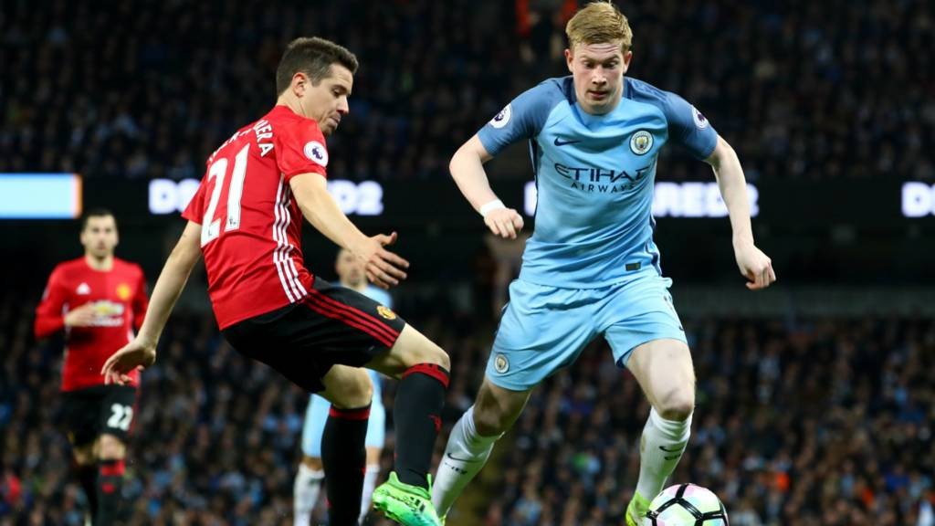 Manchester City's De Bruyne