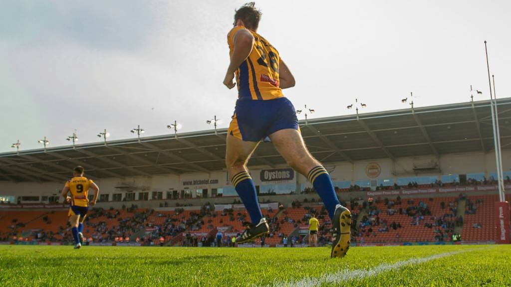 Whitehaven player takes to the field