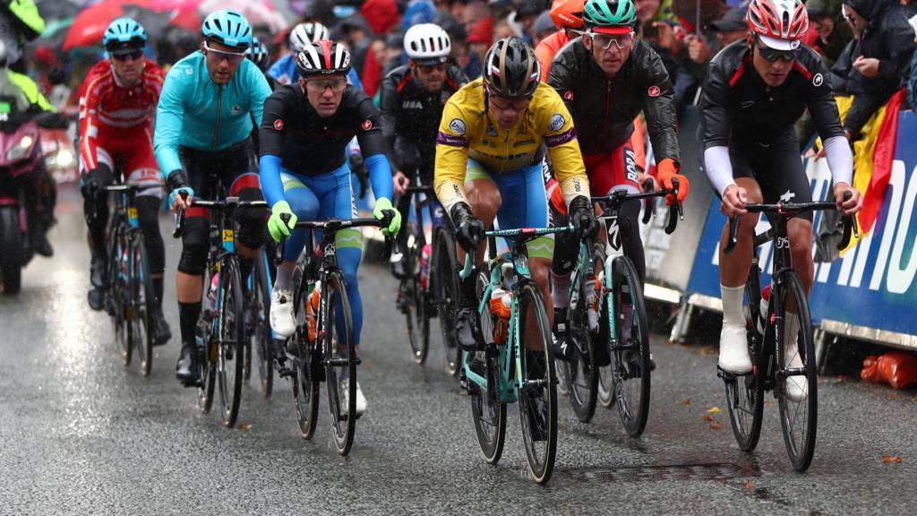 Men's Rad Race at the 2019 Road World Championships in Yorkshire