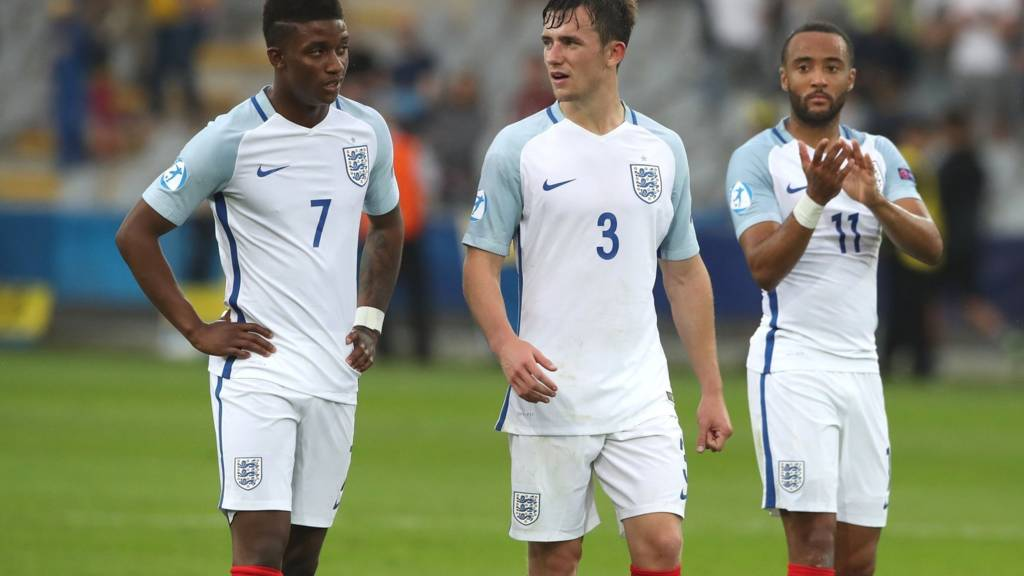 England players at full time