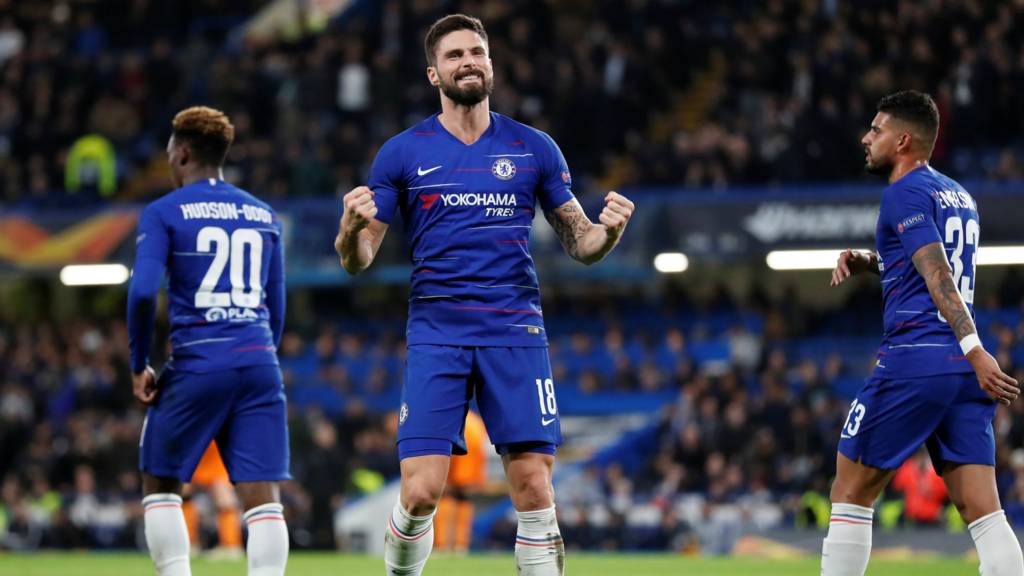 chelsea v paok salonika in europa league live bbc sport