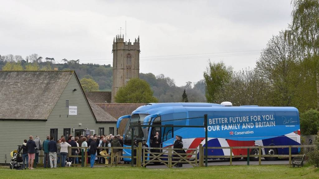 The Conservative battlebus in 2015