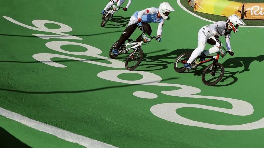 Rio BMX track