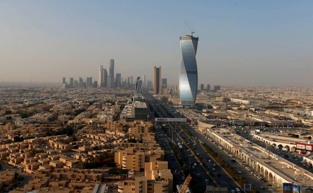 صورة للعاصمة السعودية أمس