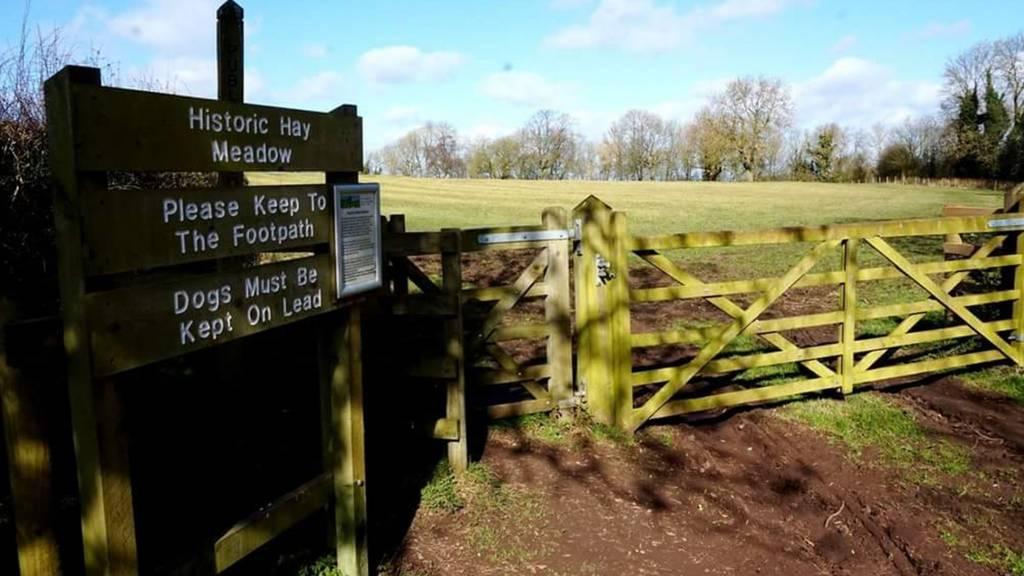 Entrance to Hay Meadow