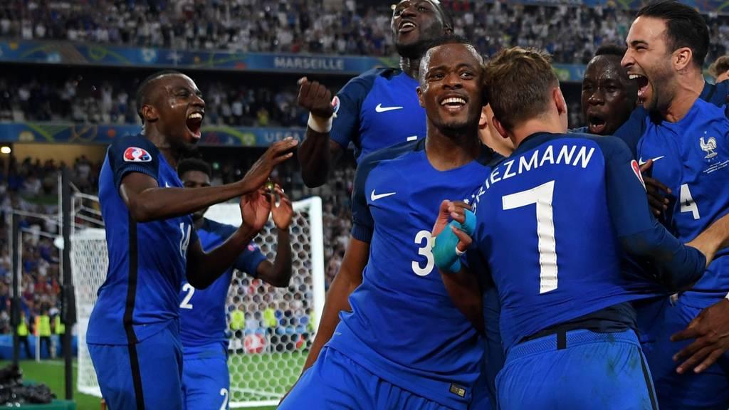 fc3b2ae7f6b Euro 2016: Germany v France - Live - BBC Sport