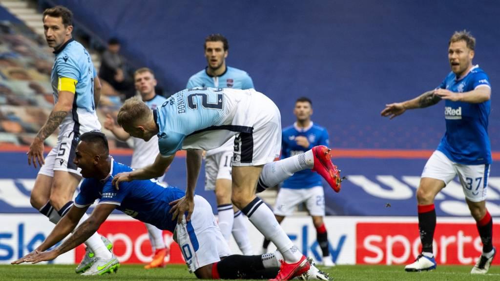 Scottish Premiership: Rangers 2-0 Ross County - Barker adds second goal -  Live - BBC Sport