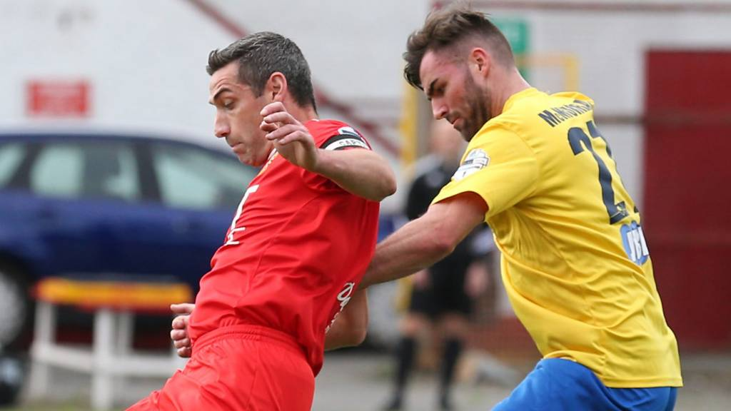 Portadown are at home to Ballymena