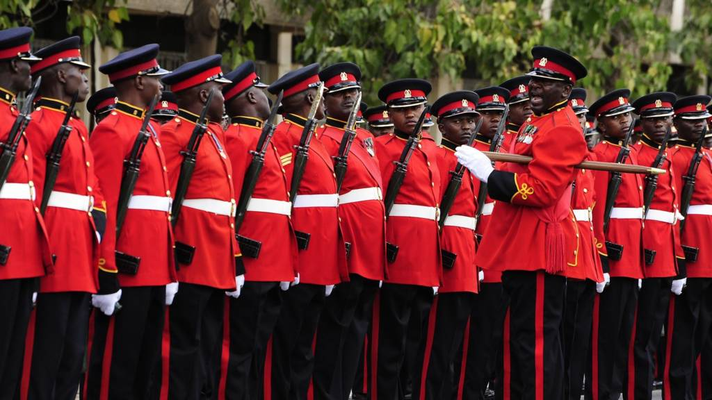 Kenya guard of honour
