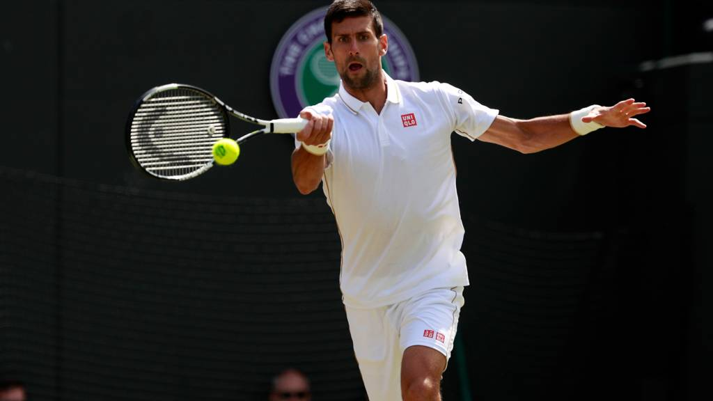 Upsets and thrillers highlight manic Monday at Wimbledon