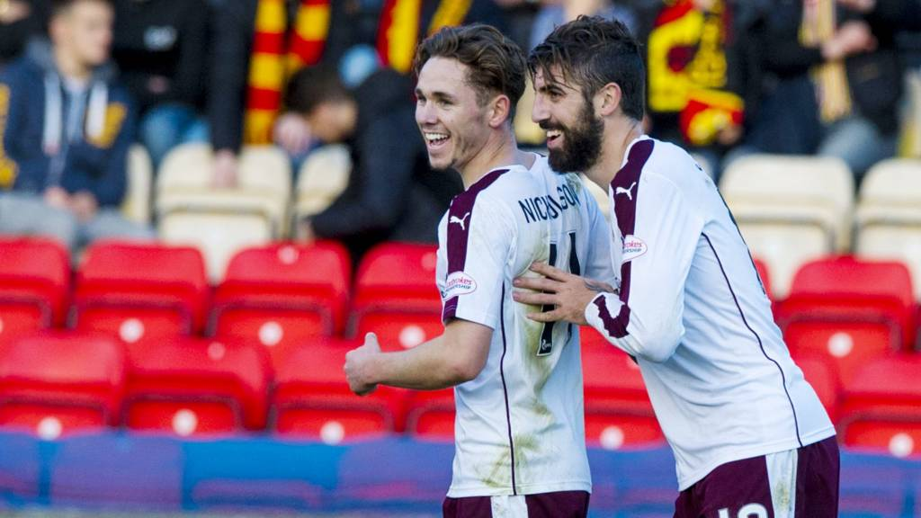 Juanma fires Hearts in front