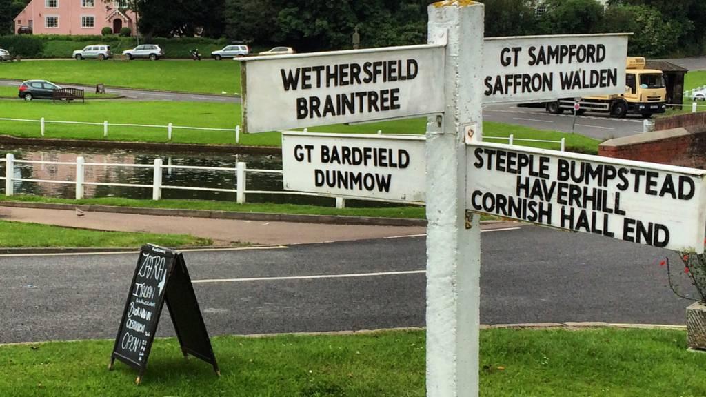 Essex sign post