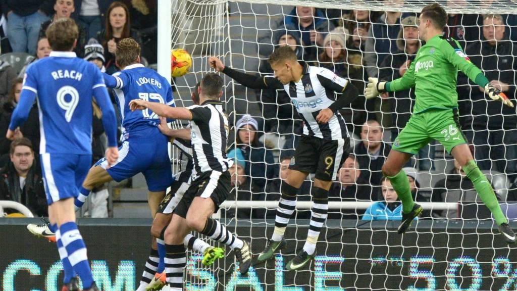 Newcastle v Sheffield Wednesday