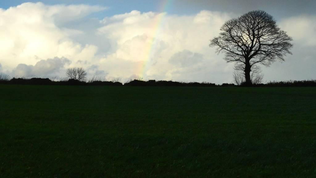 Rainbow over Thurstonland