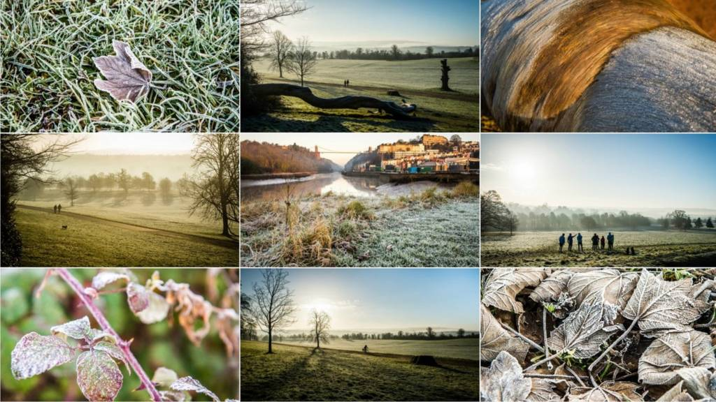 Composite wintry image