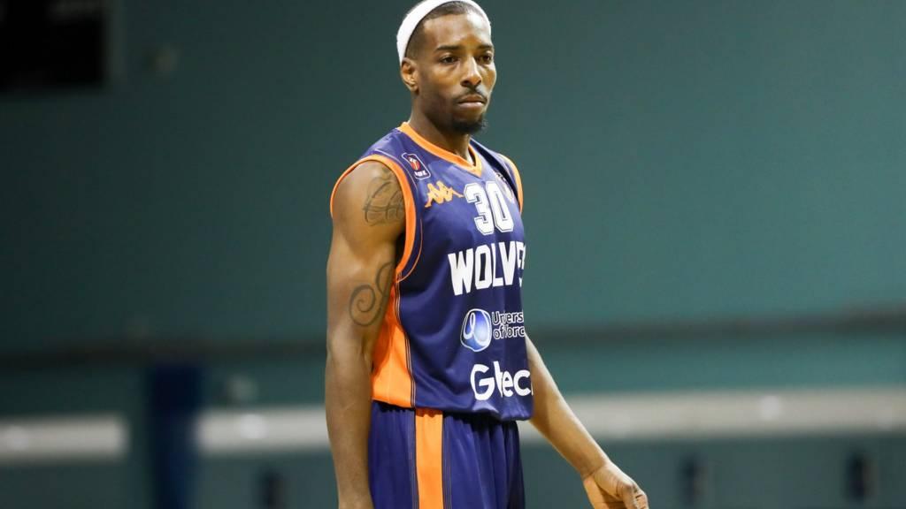 Worcester Wolves' Jermel Kennedy