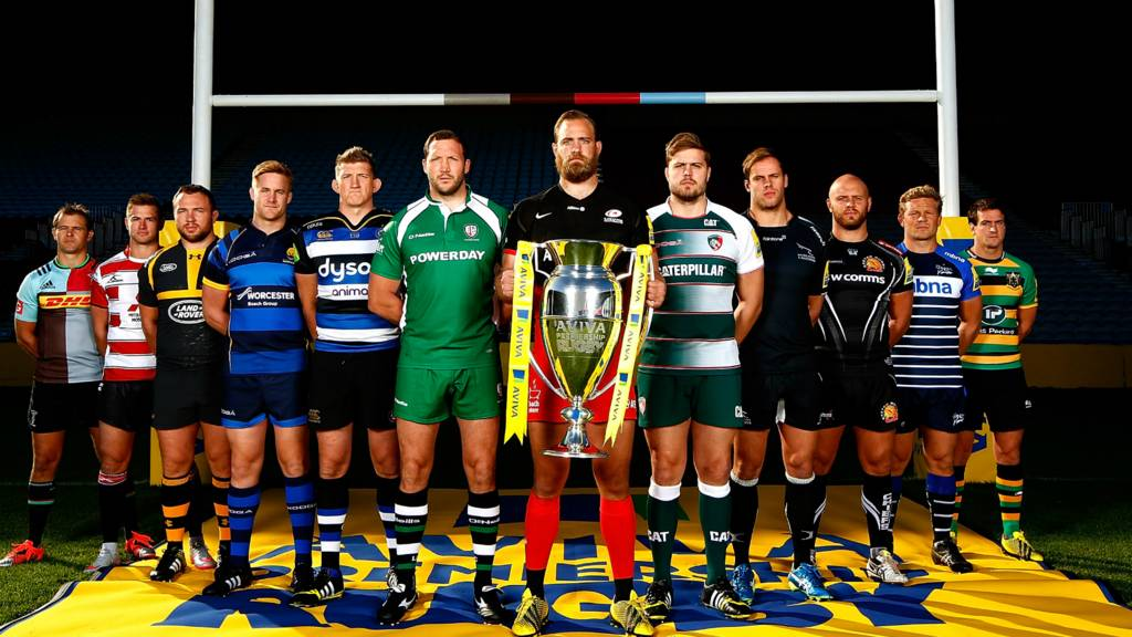 The Premiership rugby captains