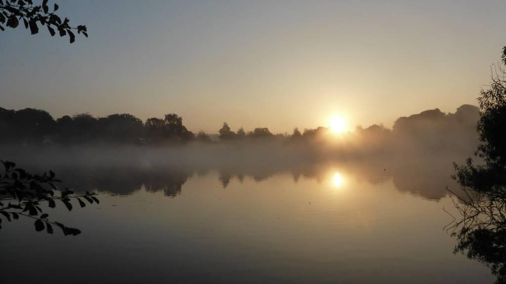 Wollaton sunrise