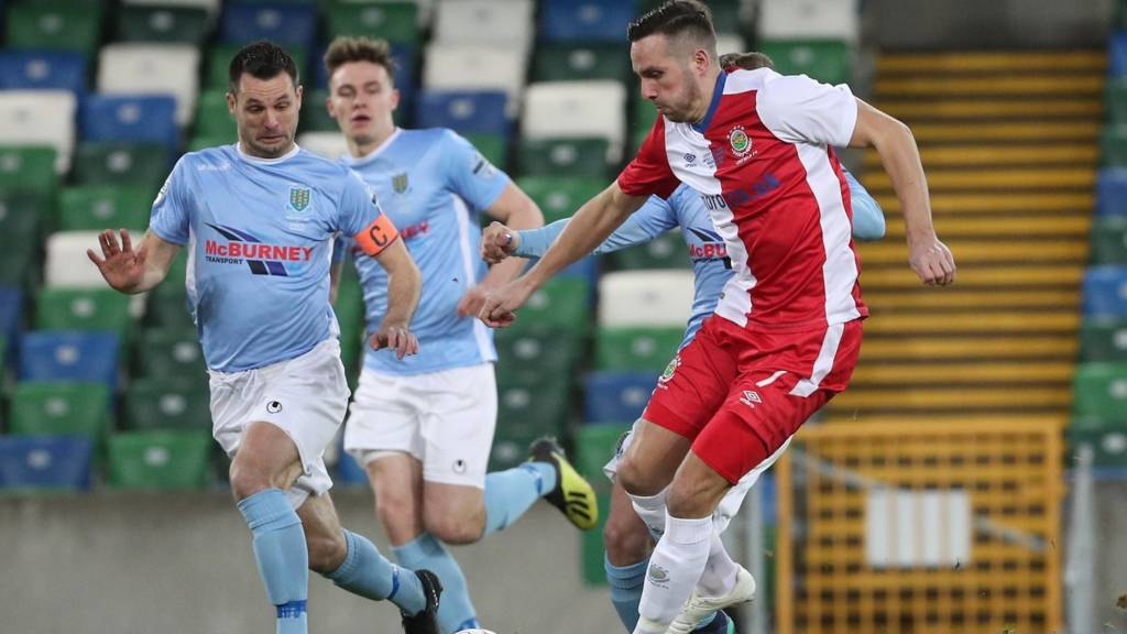 Linfield face Ballymena United in the NI League Cup final