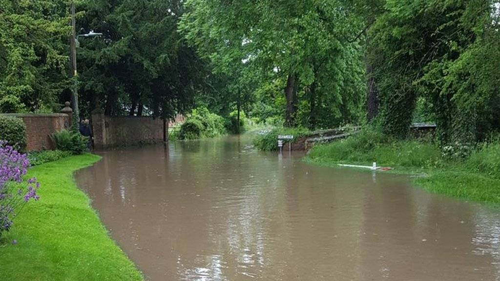 Flooding Packington