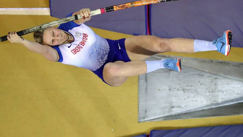 Holly Bradshaw of Great Britain