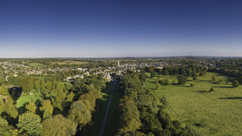 View of Cirencester