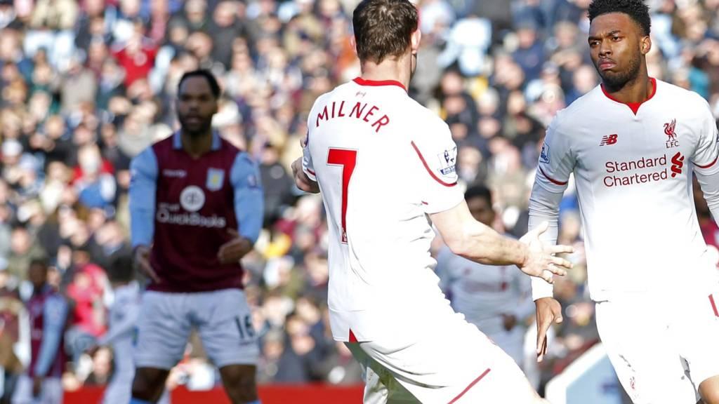 Bbc Sport Football Liverpool Vs Aston Villa