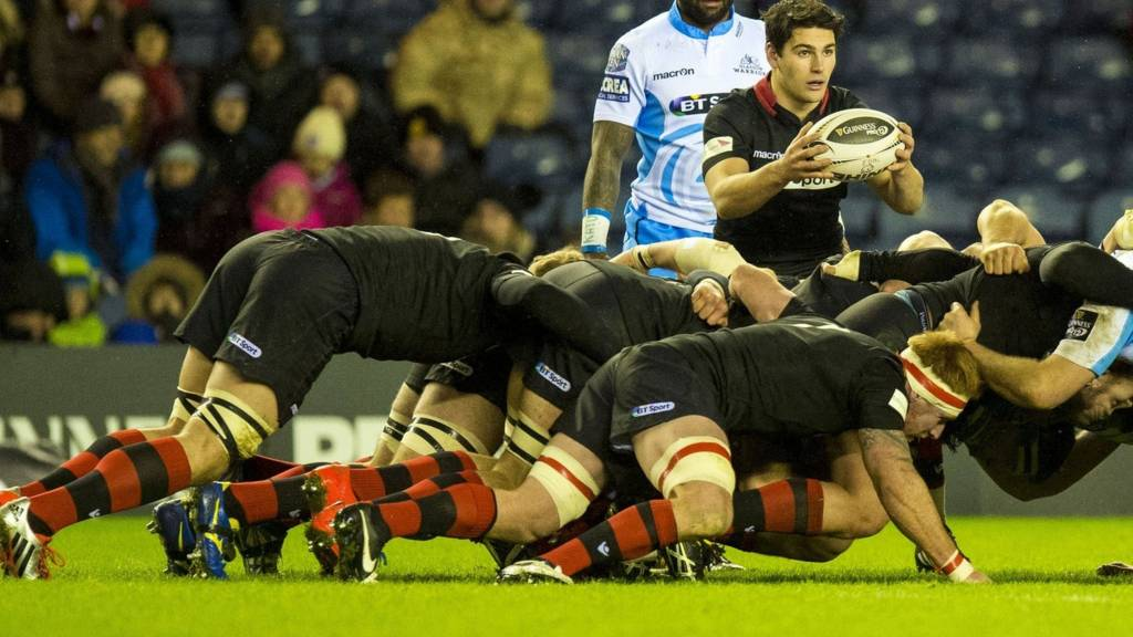 Edinburgh and Glasgow Warriors players