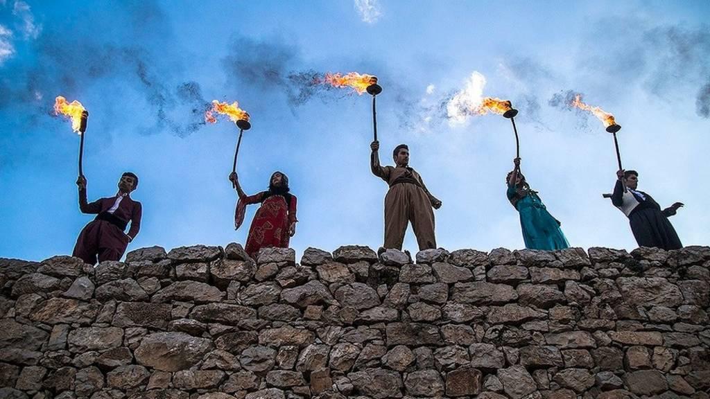 جشن نوروزی روستای پالنگان