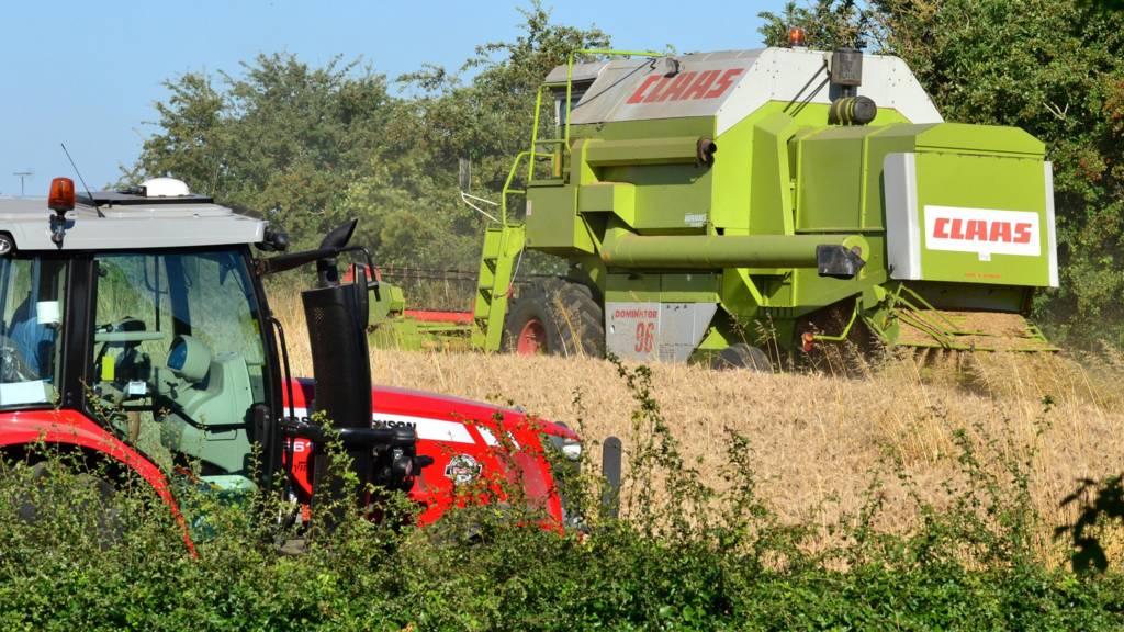 Harvest underway Rutland