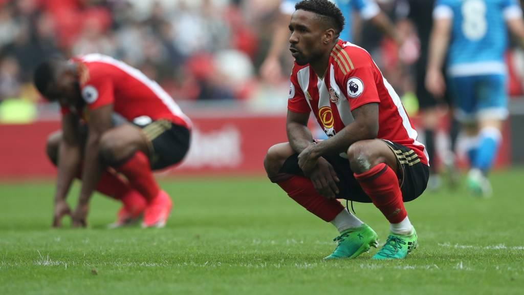 Jermaine Defoe of Sunderland