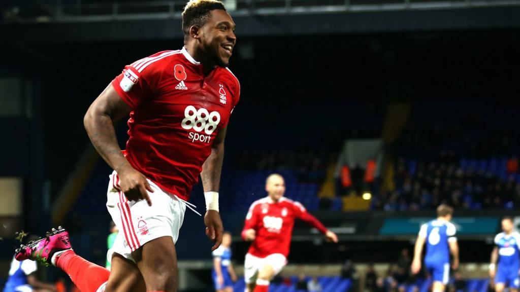 Britt Assombalonga scores for Forest