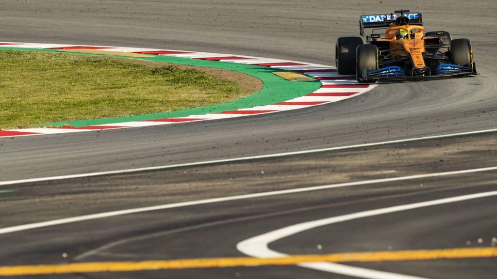 McLaren's Lando Norris