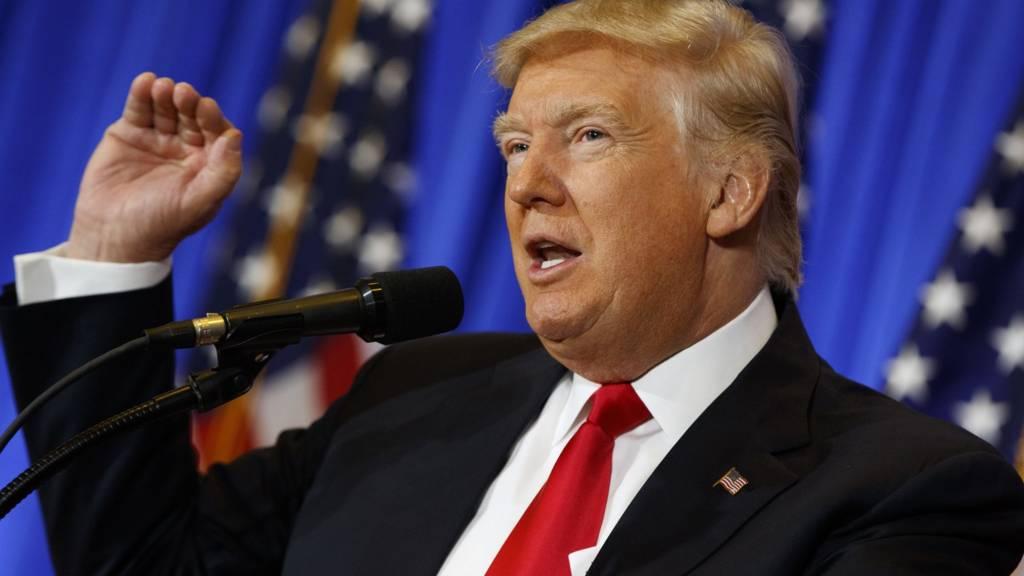 US President-elect Donald Trump. 9 Nov 2016