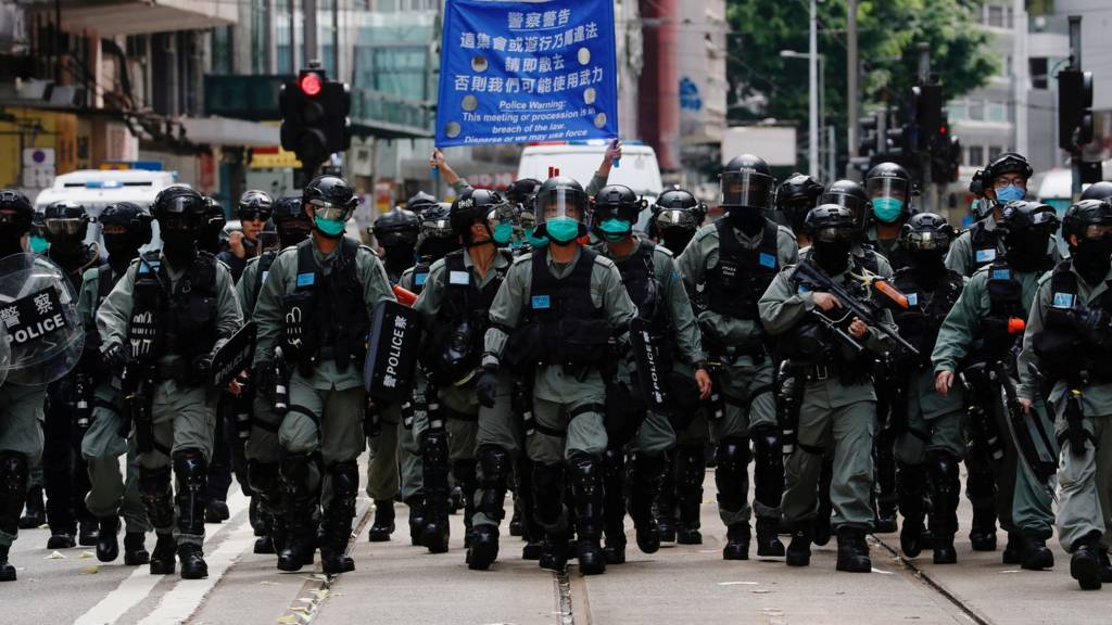 Hong Kong police make first arrests under national security law