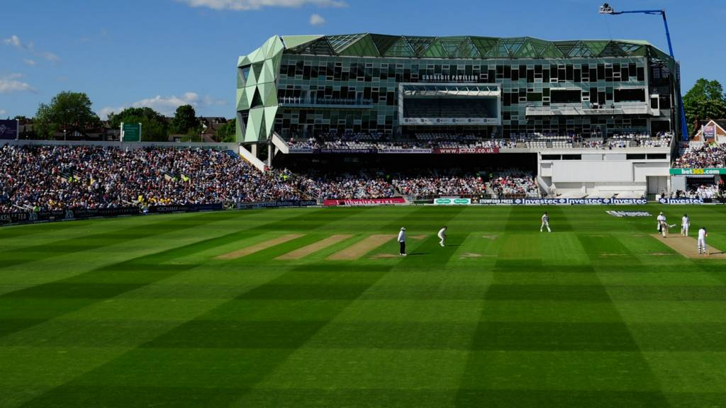 A general view of Headingley