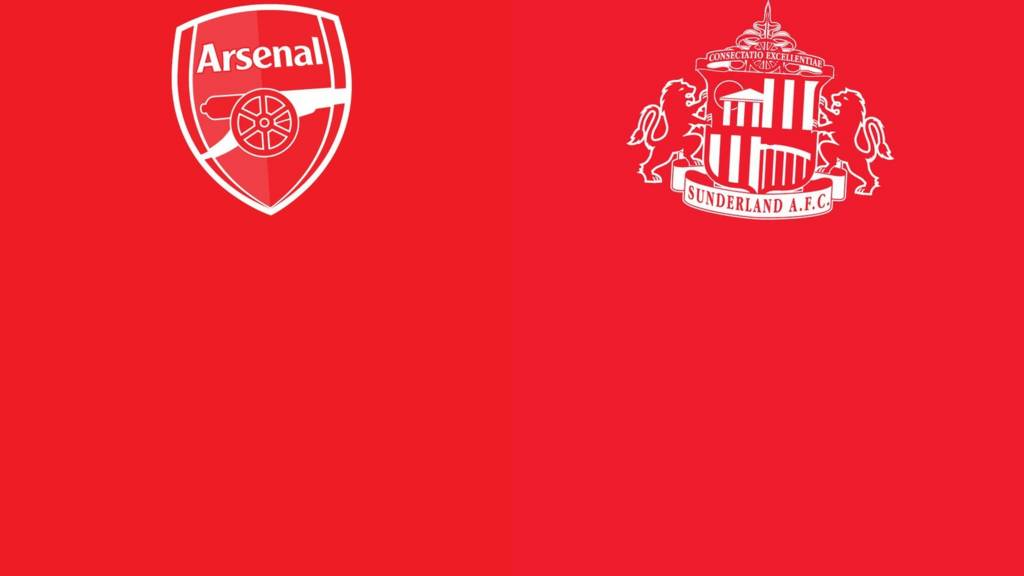 Arsenal v Sunderland badge