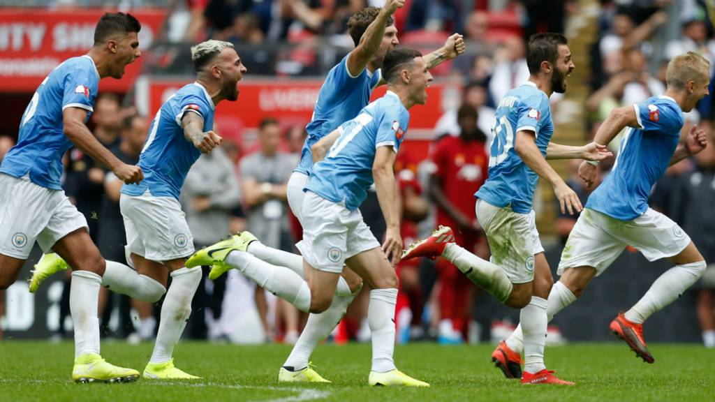 FA Community Shield live: Liverpool v Manchester City - Live
