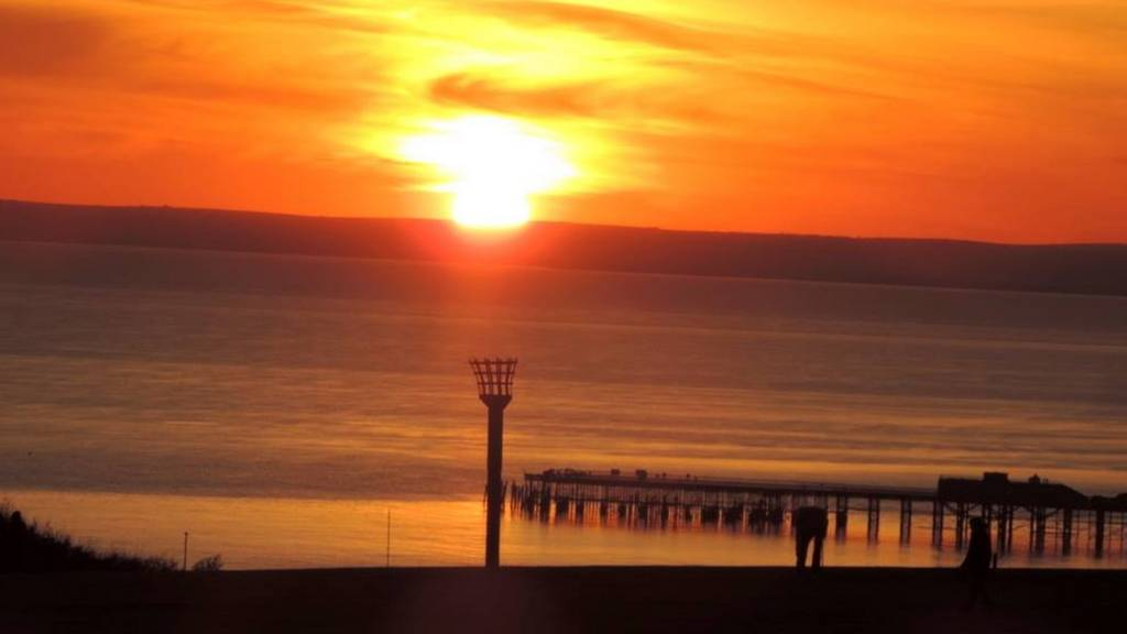Hastings sunset