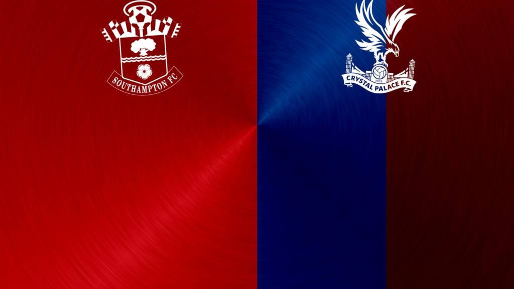 Southampton v Crystal Palace badges