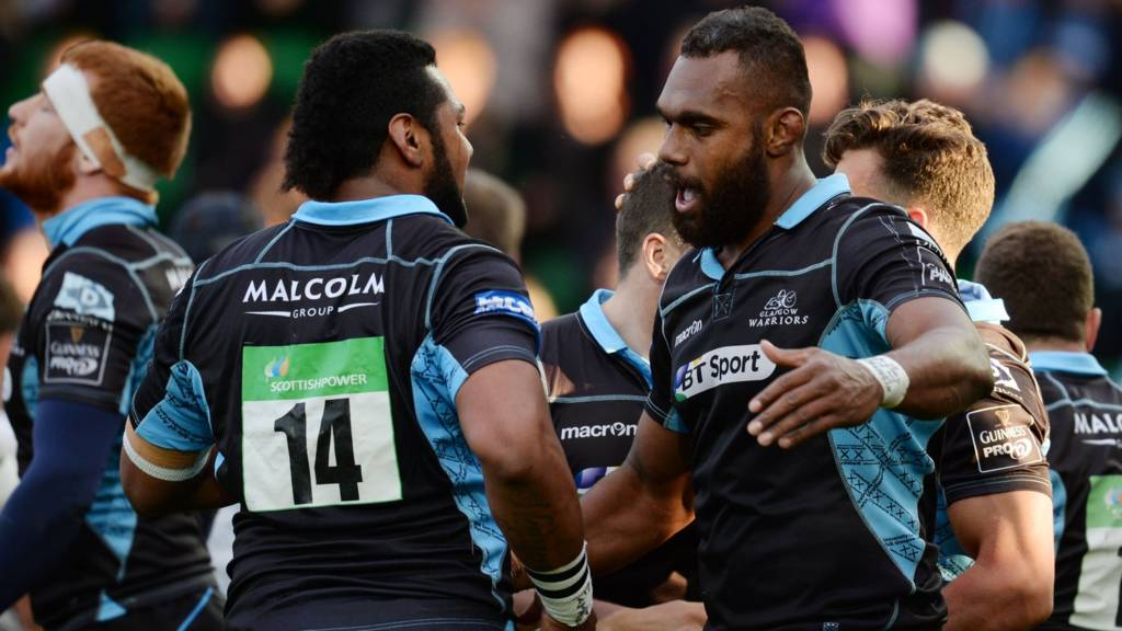 Glasgow are in command against Zebre