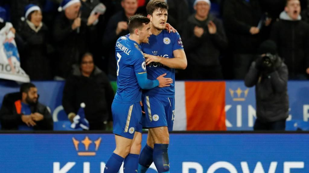 Maguire celebrates