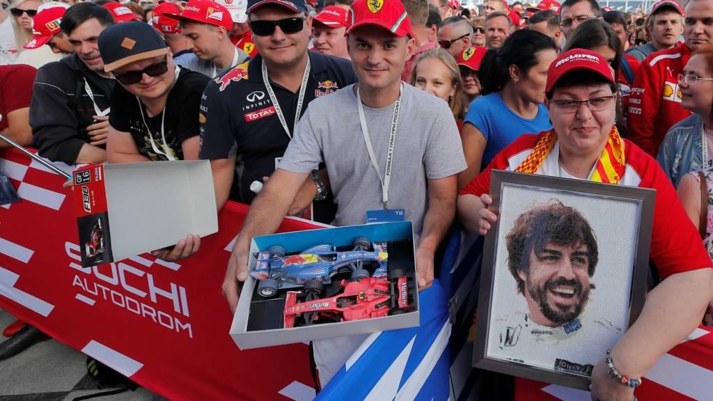 Russian GP fans