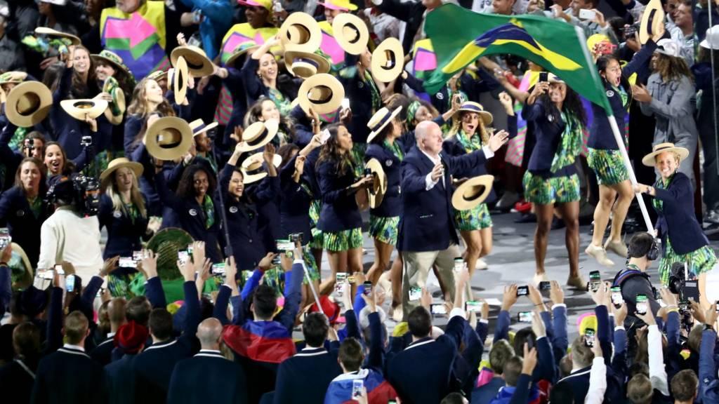 delegação brasileira