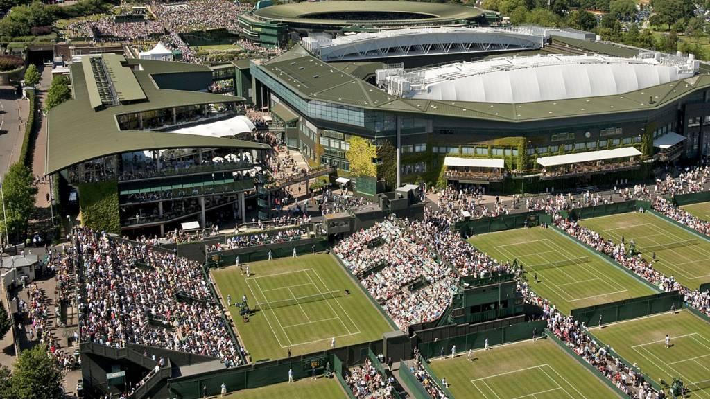 Wimbledon aerial view