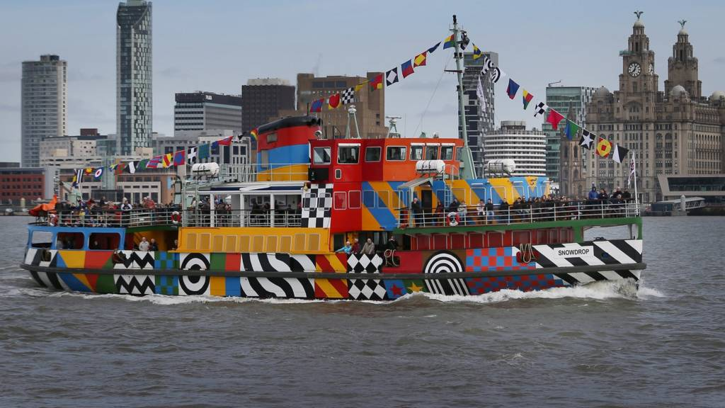 Ferry on the Mersey